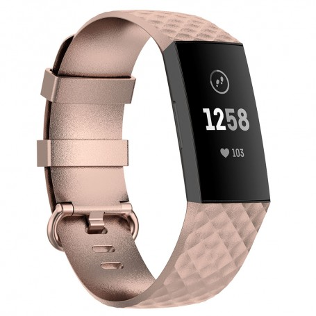 Sport Armband Silicone Fitbit Charge 4 - Gold